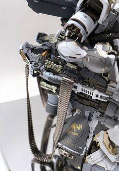MG 1/100 MSN-04 Snow Sazabi - Custom Build Modeled by ihaveyen