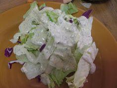 Norah's Menus and Recipes: Creamy Italian Salad Dressing