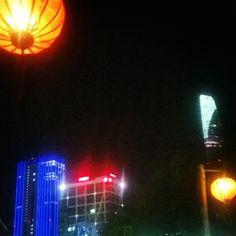 The Recovering Humanitarian Lanterns, Vietnam, Neon Signs, Lamps, Lantern, Light Posts
