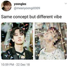 Two sides of Hobi Jimin, Bts Bangtan Boy, Jhope, Namjoon, Just Dance, Jung Hoseok, Wattpad, Bts Memes, K Pop