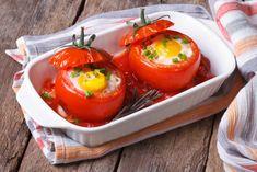 Помидоры фаршированные яйцом и запеченные в духовке Stuffed Peppers, Vegetables, Food, Stuffed Pepper, Essen, Vegetable Recipes, Meals, Yemek, Stuffed Sweet Peppers