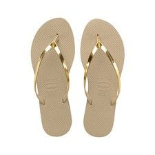 66df38186c6b1 Havaianas You Metallic Sandal ( 40) ❤ liked on Polyvore featuring shoes
