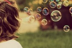 Picture with bubbles..