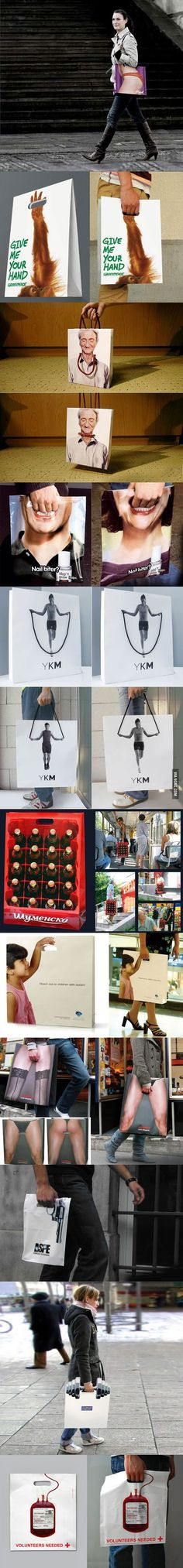 Brilliant #Bag Ads for Your Inspiration