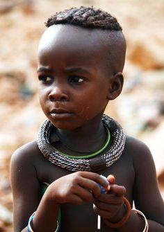 Africa | Portrait of a Himba girl.  Kunene, Namibia |  © Gabi ~ gvst* on flickr