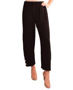 Multiples M3102P16 Wide Leg Pucker Pants $69