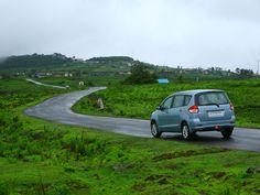 Maruti Suzuki Ertiga Car Reviews... http://www.autoinfoz.com/Car-Reviews/Maruti_Suzuki/Maruti_Ertiga/Maruti_Ertiga_VXI_CNG/Maruti_Ertiga_booming_on_Indian_road-1009.html