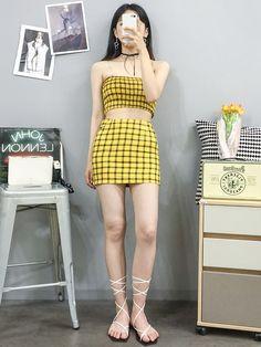 Korean Fashion – How to Dress up Korean Style – Designer Fashion Tips Korean Girl Fashion, Korean Fashion Trends, Ulzzang Fashion, Korea Fashion, Asian Fashion, Daily Fashion, Girl Outfits, Cute Outfits, Fashion Outfits