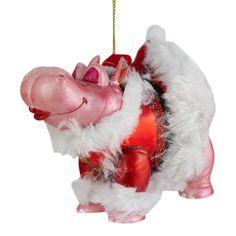 Novelty Christmas Hippo or Rhino Tree Decorations Christmas Baubles, Christmas Tree Decorations, Holiday Decor, Create, Stuff To Buy, Home Decor, Homemade Home Decor, Christmas Ornaments, Christmas Tree Baubles