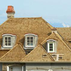A Cedar Shingles Roof
