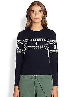 Band of Outsiders Atari Outlaw 2600 Wool Sweater
