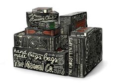 PackagingBlog / Best Packaging Designs Around The World: The Manual Co. Boxes