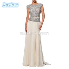 Find More Prom Dresses Information about Cap Sleeves Abendkleider Crystals Beading Robe De Soiree Long Prom Dresses 2017 Custom Louisvuigon Women Evening Dresses,High Quality beaded bracelet with charm,China bead tube Suppliers, Cheap beaded ball gown wedding dresses from Lowime Boutique Store on Aliexpress.com