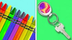 COOL CRAFTS MADE FROM CRAYONS Crayons are perfect to create various artworks and we created a selection of top crafts to make. 5 Minute Crafts Videos, 5 Min Crafts, Diy Crafts Hacks, Diy Home Crafts, Diy Crafts Videos, Diy Crafts For Girls, Crafts To Make, Fun Crafts, Paper Crafts