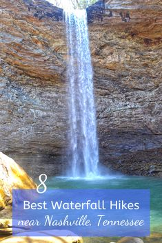 Advice from a Nashville local : Hike to these 8 waterfalls to experience the beauty of nature in Tennessee. babies flight hotel restaurant destinations ideas tips Nashville Hiking, Tennessee Hiking, Tennessee Vacation, Nashville Tennessee, East Tennessee, Nashville Quotes, Alaska Travel, Travel Usa, Alaska Cruise