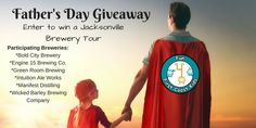 ​Jacksonville is home to several craft breweries and distilleries and we are excited to be partnering with 6 of them for an EPIC Father's Day giveaway!!!! Father's Day is often a hard holiday to shop for so we decided to team up with some of the family friendly breweries in town to help ​​create an awesome gift filled with gift cards and ...