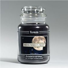 Amazon.com: Yankee Candle Large 22-Ounce Jar Candle, Midsummer's Night: Home & Kitchen