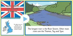 Our Country: The UK Facts PowerPoint - out country, uk, facts Primary Resources, Teaching Resources, Uk Facts, British Values, River Severn, Key Stage 1, Country Uk, Geography, United Kingdom