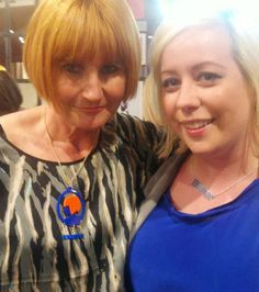 Mary Portas Bling Jewelry, Statement Jewelry, Scottish Gifts, Bespoke Jewellery, Celebrity Pictures, Laser Cutting, Jewelry Design, Jewelry Making, Celebrities