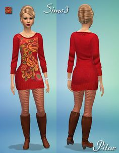 Mariona de Desigual http://www.simcontrol.es/search/label/-Sims%204%20-%20Clothes?updated-max=2014-09-06T22:31:00%2B02:00&max-results=20&start=20&by-date=false