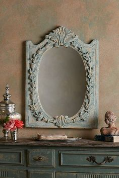 Our La Couronne Mirror is inspired by a 18th century antique our design team spotted in Rouen.