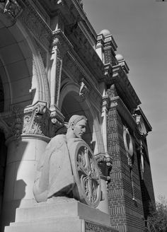 California Historical Landmarks -- Los Angeles -- Natural History Museum of Los Angeles County (built 1913)
