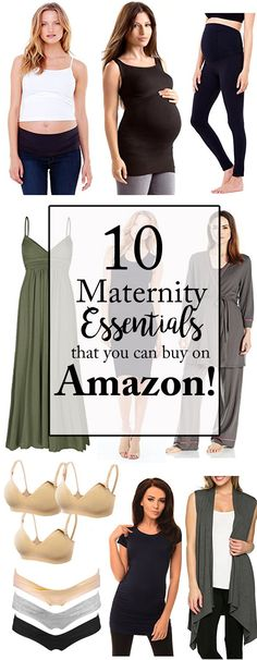 Sharing the details of my Top 10 Maternity Essentials on Amazon! These are awesome pieces that you can stock up on to take you through pregnancy in style!