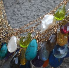 its-elemental.com #healinggemstonejewelry - click on necklace images for ideas