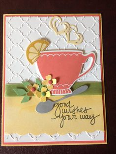 A Nice Cuppa Stampin Up