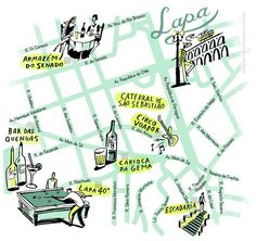 #map #Rio de Janeiro #lapa