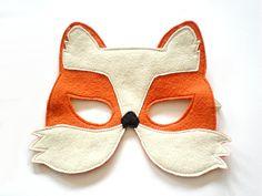 Fox niños Halloween Máscara niños carnaval el por BHBKidstyle