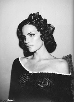 Missy Rayder by Daniel Jackson for AnOther S/S 2008