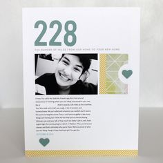 Numbers rock. | Make a Page Monday: Scrapbook a number that tells a story in your life | CZ Design