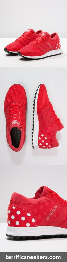 awesome! adidas Originals LOS ANGELES Sneaker tomato/white