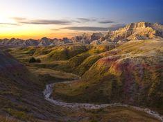 Sunrise, Badlands National Park