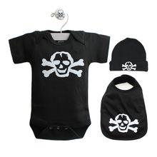 Scribble Skull 3 Piece Gift Set