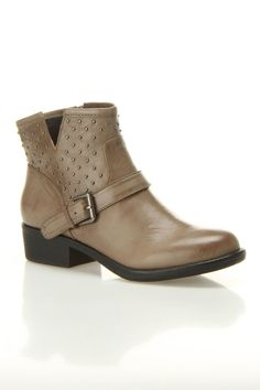 Alabama Heel Booties...about all the heel that I want.