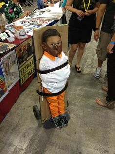 Hannible Lector #Funny Halloween Costume Ideas For Kids