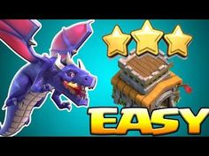 Clash of clans | Dragon attacks and Free Gems