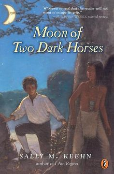 Moon of Two Dark Horses by Sally Keehn - a story of colonial America, told from the point of view of the ghost of a Delaware Indian boy.