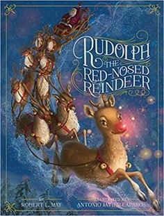 31 classic Christmas books for gifts this year, including Rudolph the Red-Nosed Reindeer by Robert L. May. Lots of Christmas books for adults in this list, too!
