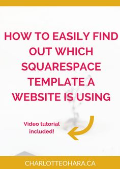 The best worst squarespace templates design development how to easily find out what squarespace template a website is using video tutorial pronofoot35fo Gallery