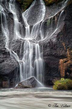 Angel Waterfall Iceland