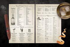 Classic Vintage Restaurant Menus by Steinborn Design Co. on @creativemarket