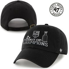 NHL Los Angeles Kings Brand 2014 Stanley Cup Champions Clean Up Adjustable  Hat fb85a3ca6141