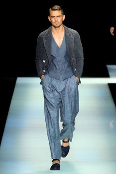 Giorgio Armani Men's Spring/Summer 2016 #MFW | DESIGNS FEVER