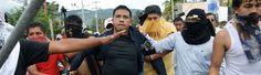 Las protestas anti-gubernamentales estadounidenses de apoyar a México - siempre y cuando se quedan en México