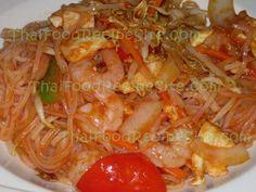 Pad Thai   I Love Thai food.