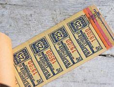 * Jenni Bowlin * - pastel-y beautiful colored tickets