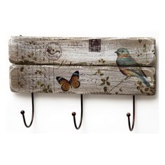 Upcycled Furniture, Wood, Flowers, Crafts, Painting, Decoupage Ideas, Apartment Ideas, Ideas Para, Butterfly